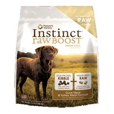 Natures Variety Instinct Raw Boost Duck and Turkey Dry Food