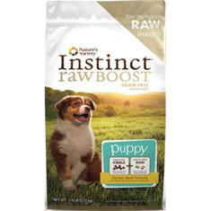 Natures Variety Instinct Raw Boost Grain Free Chicken Meal Puppy