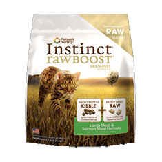 Natures Variety Instinct Raw Boost Lamb and Salmon Dry Cat Food