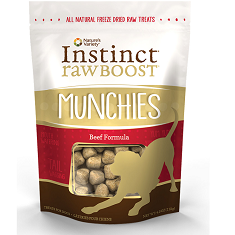 Natures Variety Instinct Raw Boost Munchies Beef Freeze Dried