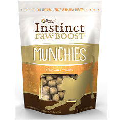 Natures Variety Instinct Raw Boost Munchies Chicken Freeze Dried