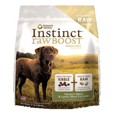 Natures Variety Instinct Raw Boost Venison and Lamb Dry Food