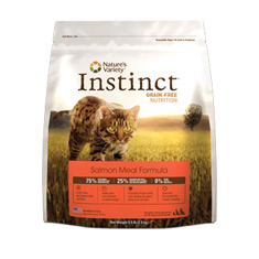 Natures Variety Instinct Salmon Dry Cat Food