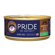 Natures Variety Pride by Instinct Flaked Daredevils Duck Canned Cat Food