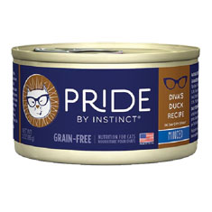 Natures Variety Pride by Instinct Minced Divas Duck Canned Cat Food