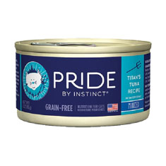 Natures Variety Pride by Instinct Minced Titans Tuna Canned Cat Food