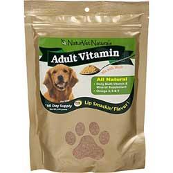 NaturVet Adult Vitamin