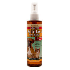 Naturvet Anti Lick Paw Spray