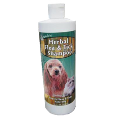 NaturVet Herbal Flea and Tick Shampoo