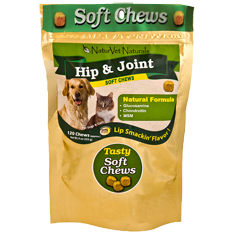 NaturVet Hip and Joint Soft Chews