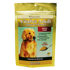 NaturVet VitaPet Adult Supplement Powder