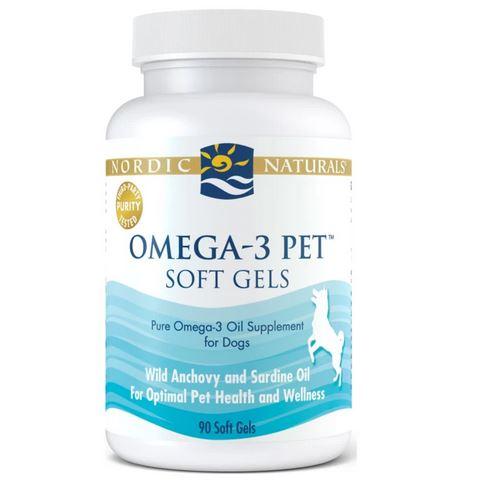 Nordic Naturals Omega 3 Pet Soft Gels