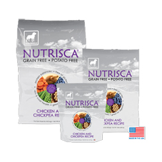 Nutrisca Grain and Potato Free Chicken Dog Food