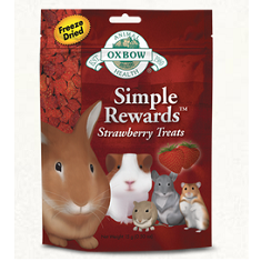 Oxbow Animal Health Simple Rewards Strawberry Treats