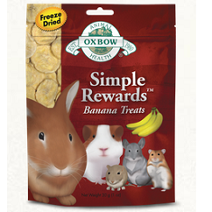 Oxbow Animal Health Simple Rewards Banana Treats