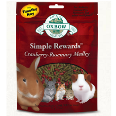 Oxbow Animal Health Simple Rewards Cranberry Rosemary Medley