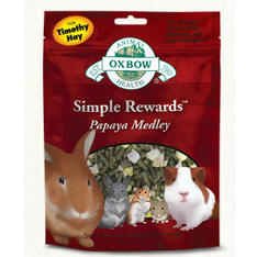 Oxbow Animal Health Simple Rewards Papaya Medley