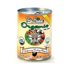 Party Animal Organic Dog Food California Turkey Recipe