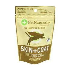 Pet Naturals of Vermont Skin and Coat Cat Chews