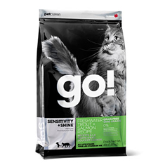 Petcurean GO Natural Freshwater Trout Dry Cat Food