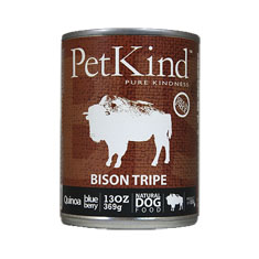 Petkind Thats It Bison Tripe Canned Dog Food