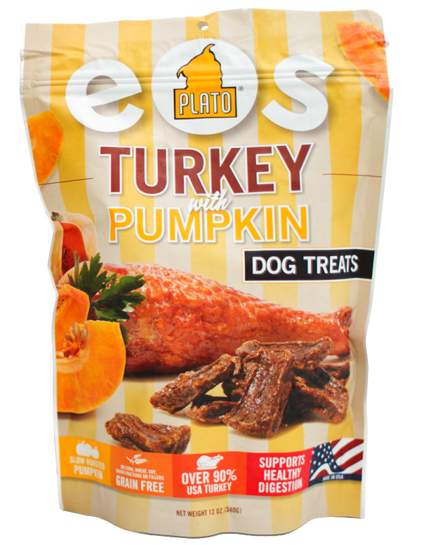 Plato EOS Turkey with Pumpkin Dog Treats