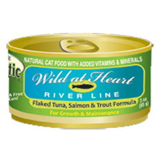 Precise Holistic Wild At Heart Salmon Tuna and Trout Cat Cans