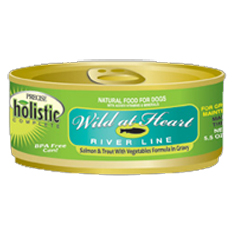 Precise Holistic Wild At Heart Salmon and Trout Dog Cans