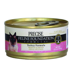 Precise Turkey Formula Canned Cat Food