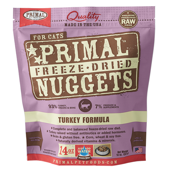 Primal Freeze Dried Feline Turkey Formula