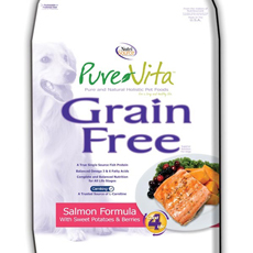 Pure Vita Grain Free Salmon Dry Dog Food