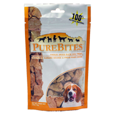 PureBites Duck Liver Dog Treats