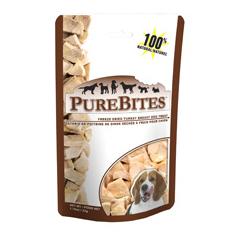 PureBites Freeze Dried Turkey Breast Treats