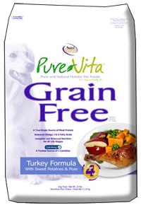 PureVita Grain Free Dog Food Turkey Formula