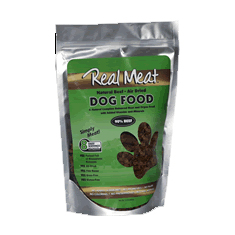 Real Meat Freeze Dried Raw Beef Dog Food