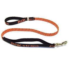 ROK Strap Leash Orange and Black