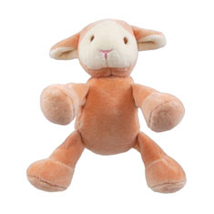 Simply Fido Beginnings Lolly Lamb Organic Dog Toy