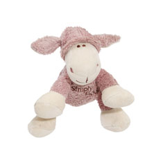 Simply Fido Petite Lolly Lamb Organic Dog Toy