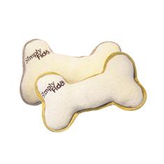 Simply Fido Plush Bone Organic Dog Toy