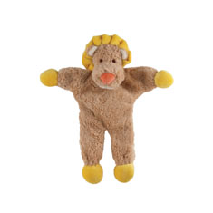 Simply Fido Stuffless Leo Lion Organic Dog Toy