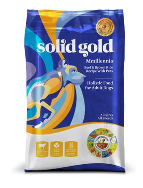 Solid Gold Mmillennia Adult Beef and Barley Dry Dog Food