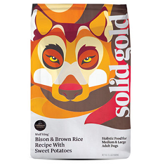 Solid Gold Wolf King Adult Bison and Brown Rice