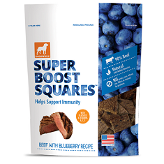 Dogswell Super Boost Squares Beef with Blueberry