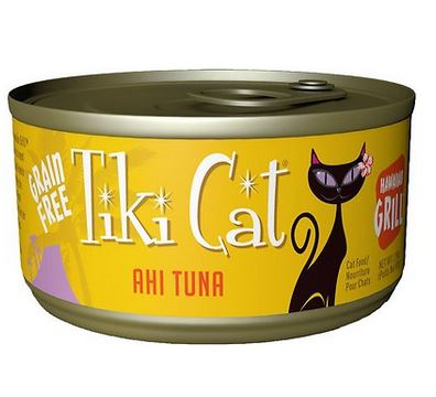 Tiki Cat Hawaiian Grill Cans