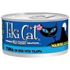 Tiki Cat Waikiki Luau Cans