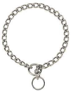 Titan by Coastal Chrome Plated Chain Choke Collars