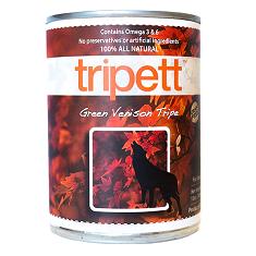 Tripett Green Venison Tripe