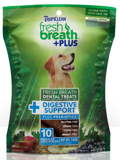 Tropiclean Fresh Breath Plus Pre Biotic Digestive Support