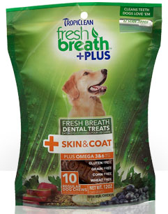 Tropiclean Fresh Breath Plus Skin and Coat