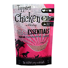 Vital Essentials Cat and Dog Freeze Dried Chicken Toppers